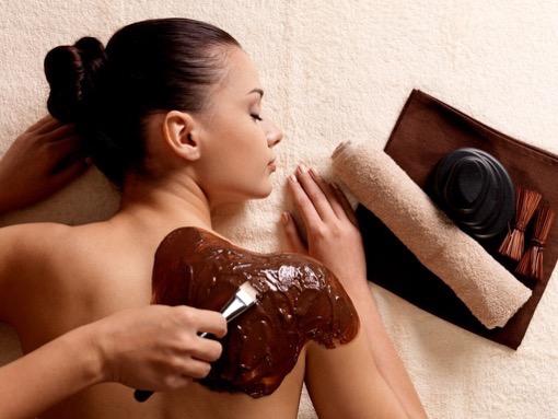 шоколадное обертывание для бани и сауны для похудения