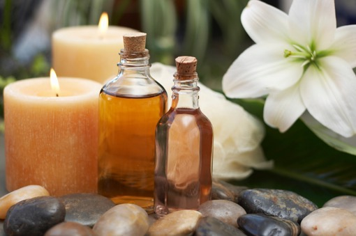 ванна с ароматическими маслами