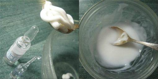 Приготовление кремя с аминофиллином