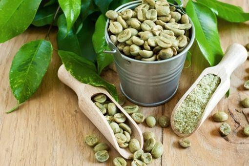 Молотый и цельный зеленый кофе