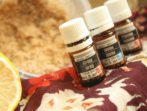 Рецепт скраба с морской солью и эфирным маслом корицы