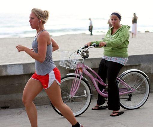 Бег или езда на велосипеде - выбор