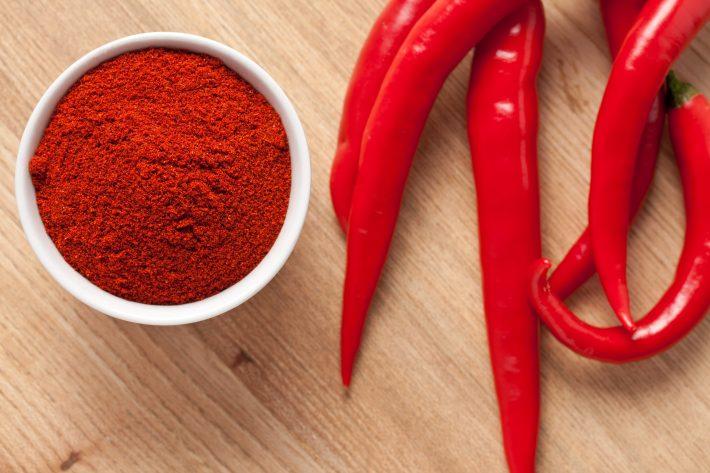 Жгучий красный перец для похудения