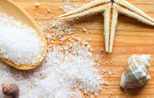 Маска из морской соли