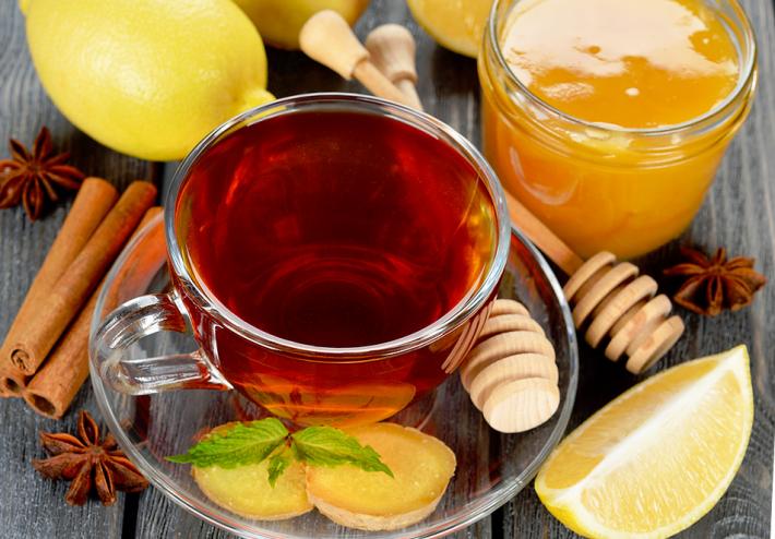 имбирь мед лимон корица рецепт