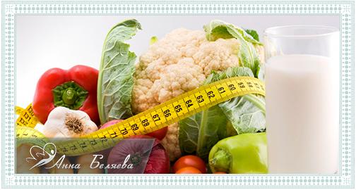 разработать правильное питание