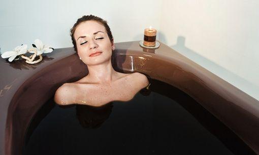 Глина от растяжек - ванна