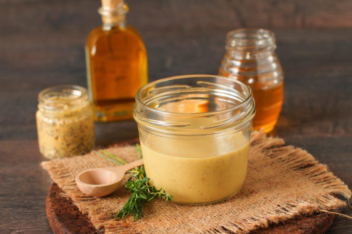Похудеть при помощи меда и горчицы