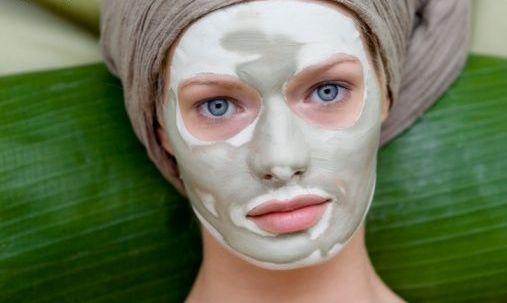 глиняная антивозрастная маска для лица