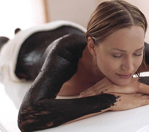 черная глина для тела