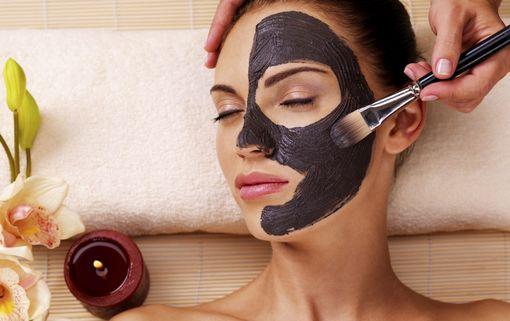 черная глина - маска на лицо