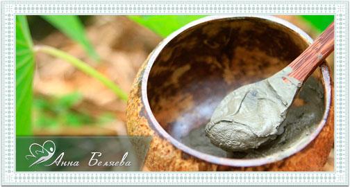 Голубая глина - свойства и применение
