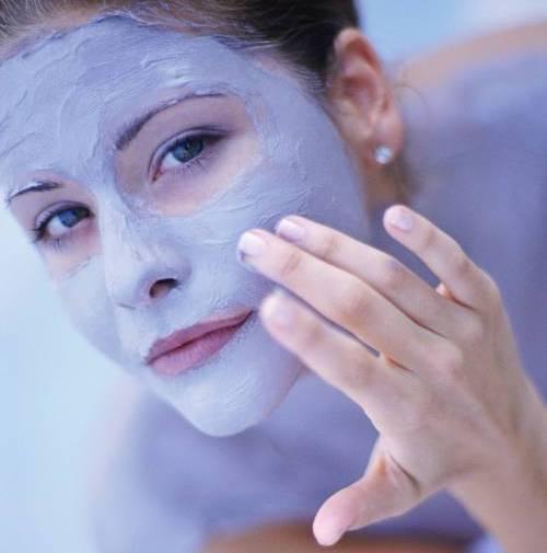 голубая глина для лица и тела