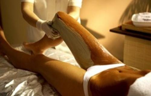 массаж с глиной