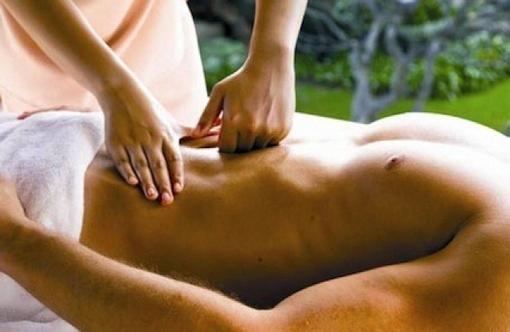 массаж живота мужчине