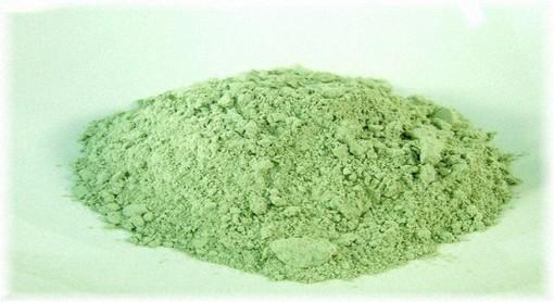 порошок зеленой глины