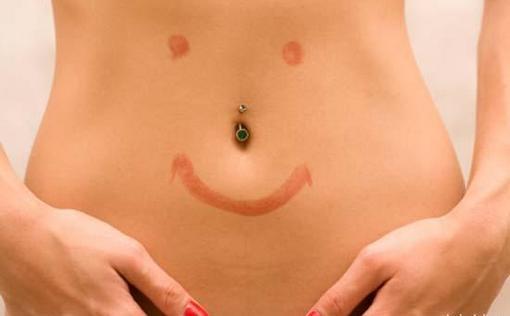 результат похудения в области живота