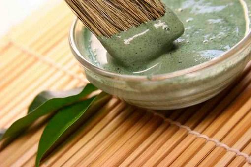 смесь из зеленой глины