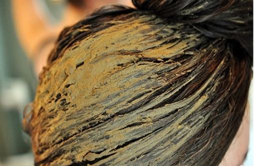 зеленая глина для волос