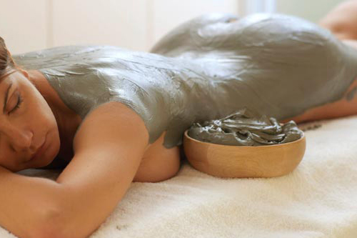голубая глина - маска для тела от целлюлита