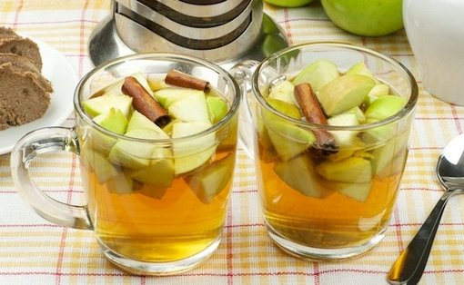 имбирь с яблоком и корицей для похудения