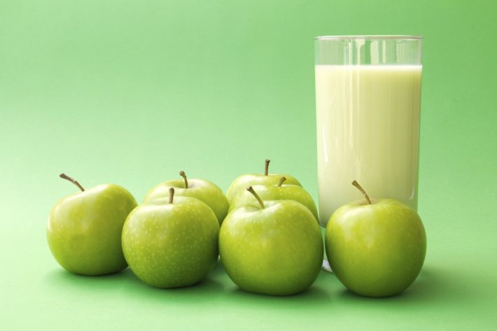 разгрузка на яблоке и кефире