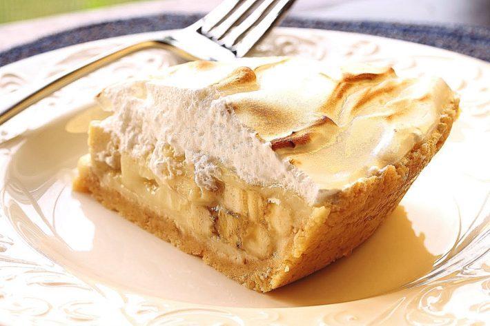 Рецепты пирога с бананами с