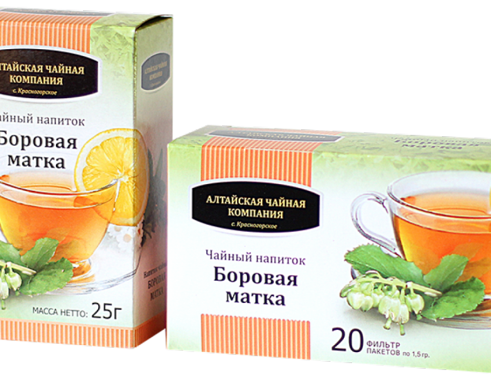 Чай боровая матка