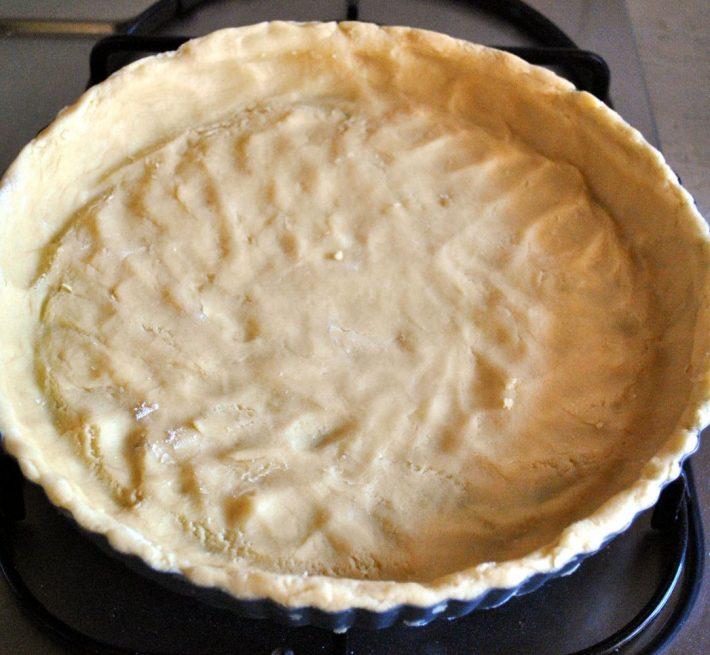 Нижний слой пирога
