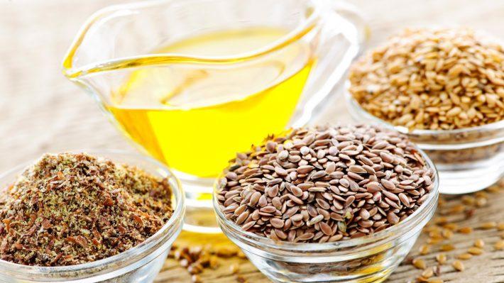 Семена льна, мука и масло