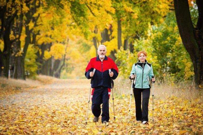 Скандинавская ходьба при заболеваниях