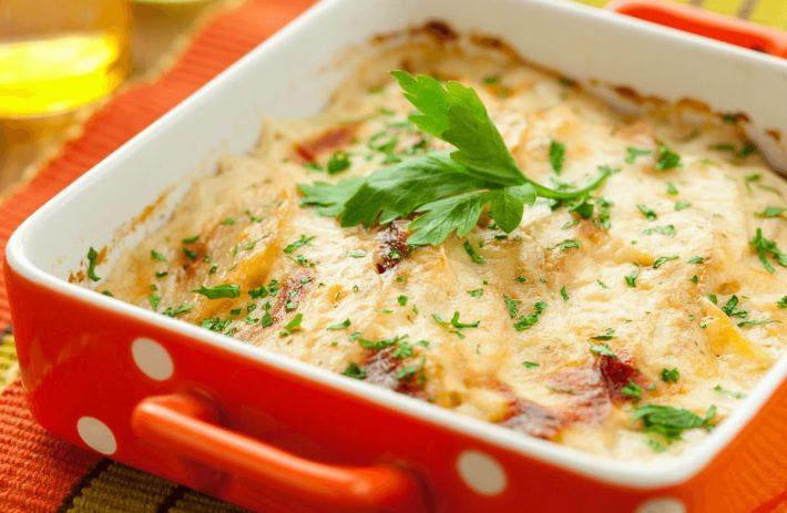 картофельная запеканка 1
