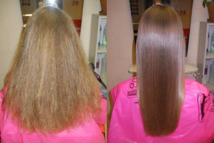 Кератин для волос: польза и вред, кератиновое выпрямление, домашнее ламинирование, рецепты масок и средств