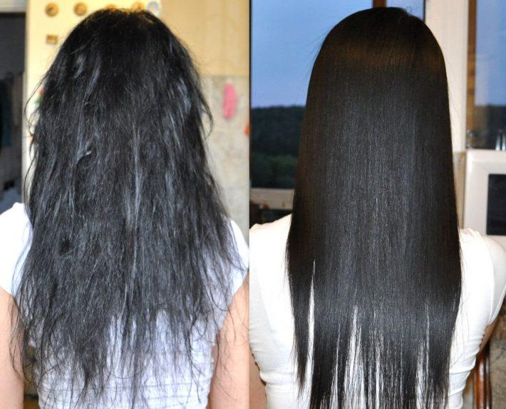 Что помогает от сеченых волос