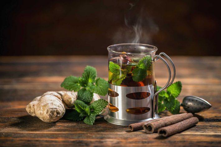 чай с мятой польза