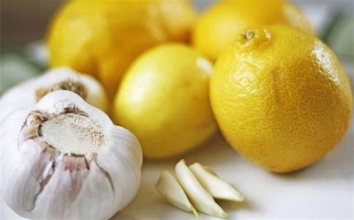 смесь мед лимон чеснок