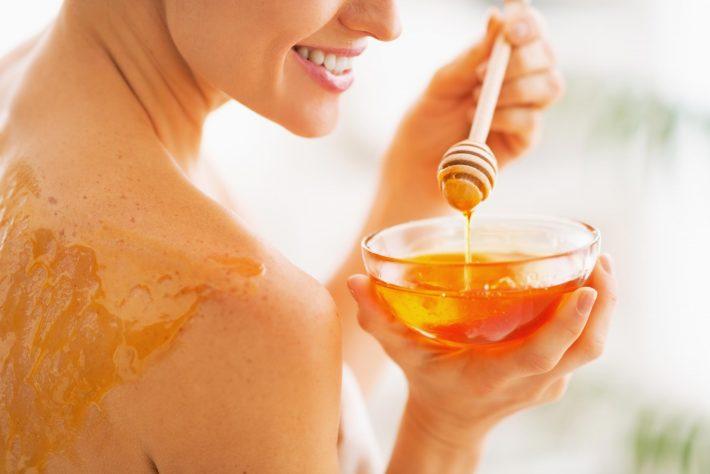 Обертывание с горчицей и медом