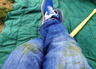 как отстирать траву с одежды