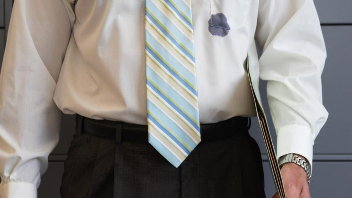 чем отстирать ручку с одежды