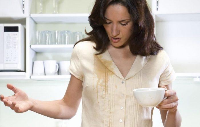 чем отстирать чай